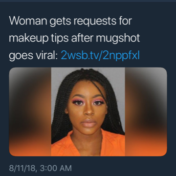 Teen's Mug Shot Goes Viral