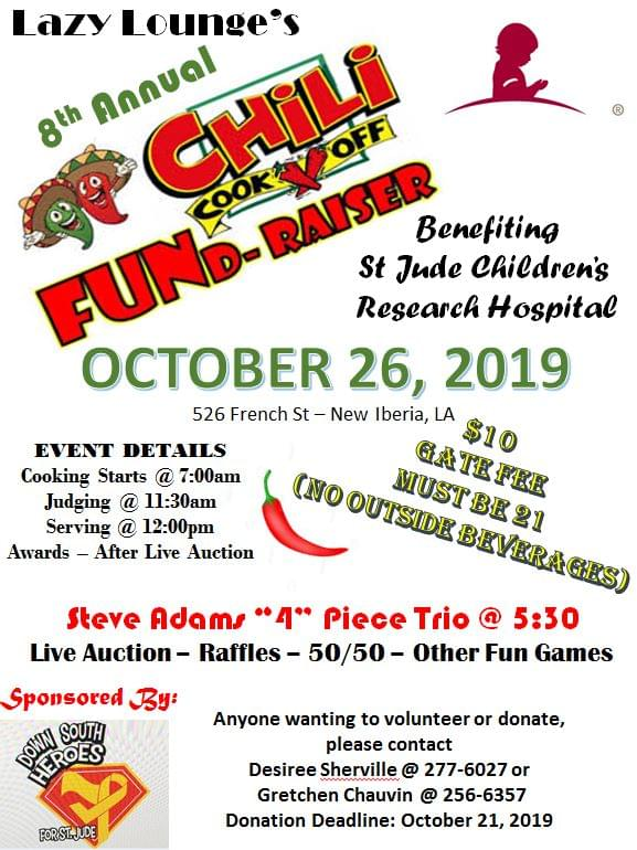 Lazy Lounge's 8th Annual Chili Cook-off