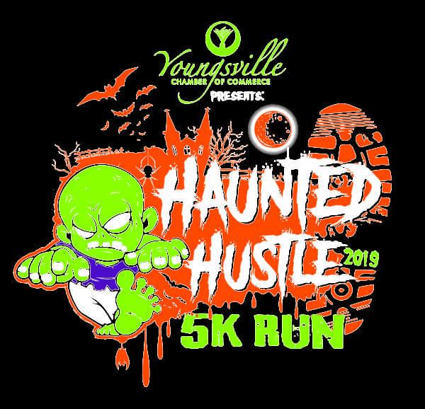 Haunted Hustle5K & ½ mile Kid's Run Family Fun Day