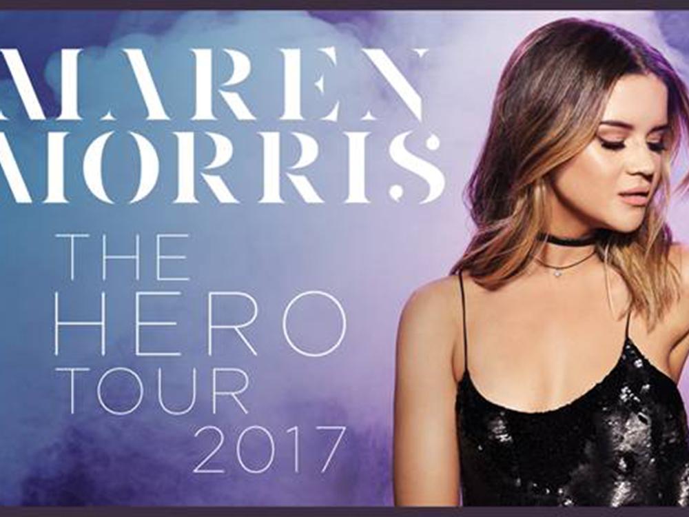 Maren Morris Announces First-Ever Headlining Tour for 2017