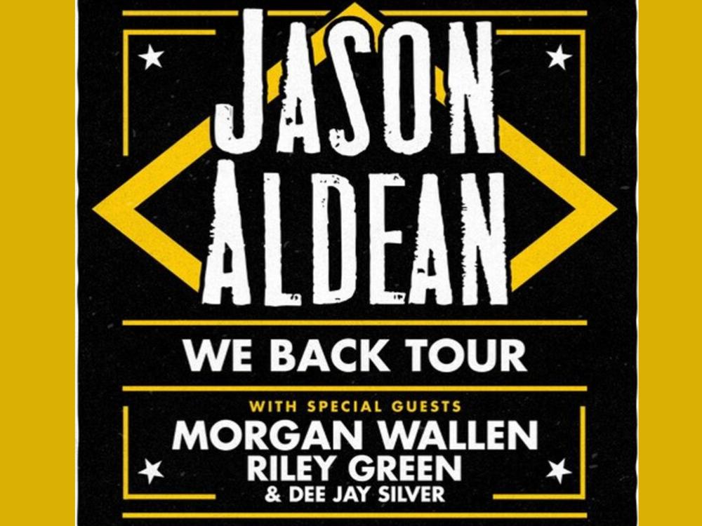 Jason Aldean Announces Lafayette Date for We Back Tour