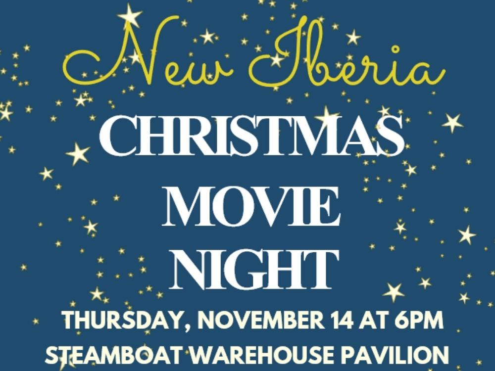 New Iberia Christmas Movie Watch Party