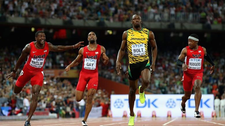 Bolt beats Gatlin at World Athletics Championships