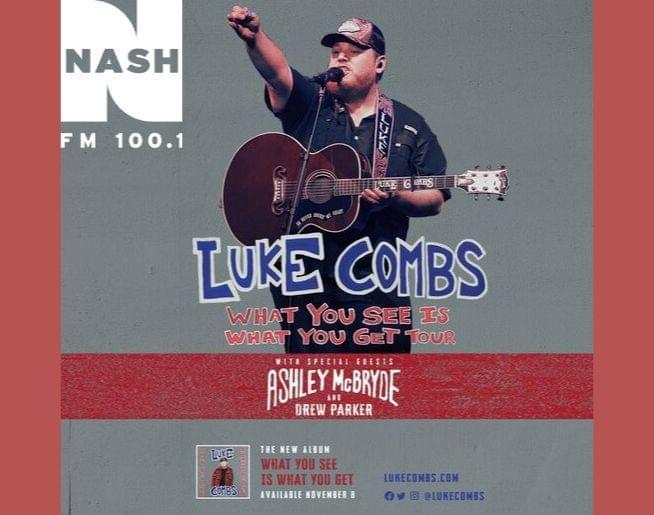 NASH FM Welcomes Luke Combs!
