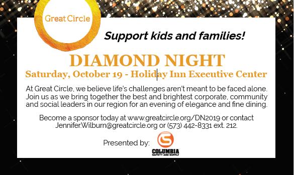 Great Circle Diamond Night