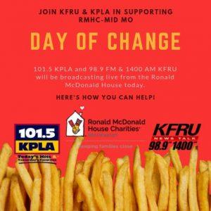 Ronald McDonald House Day of Change
