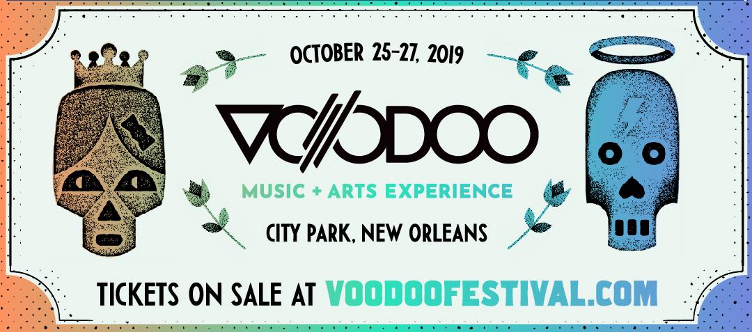 Voodoo New Orleans October 25-27
