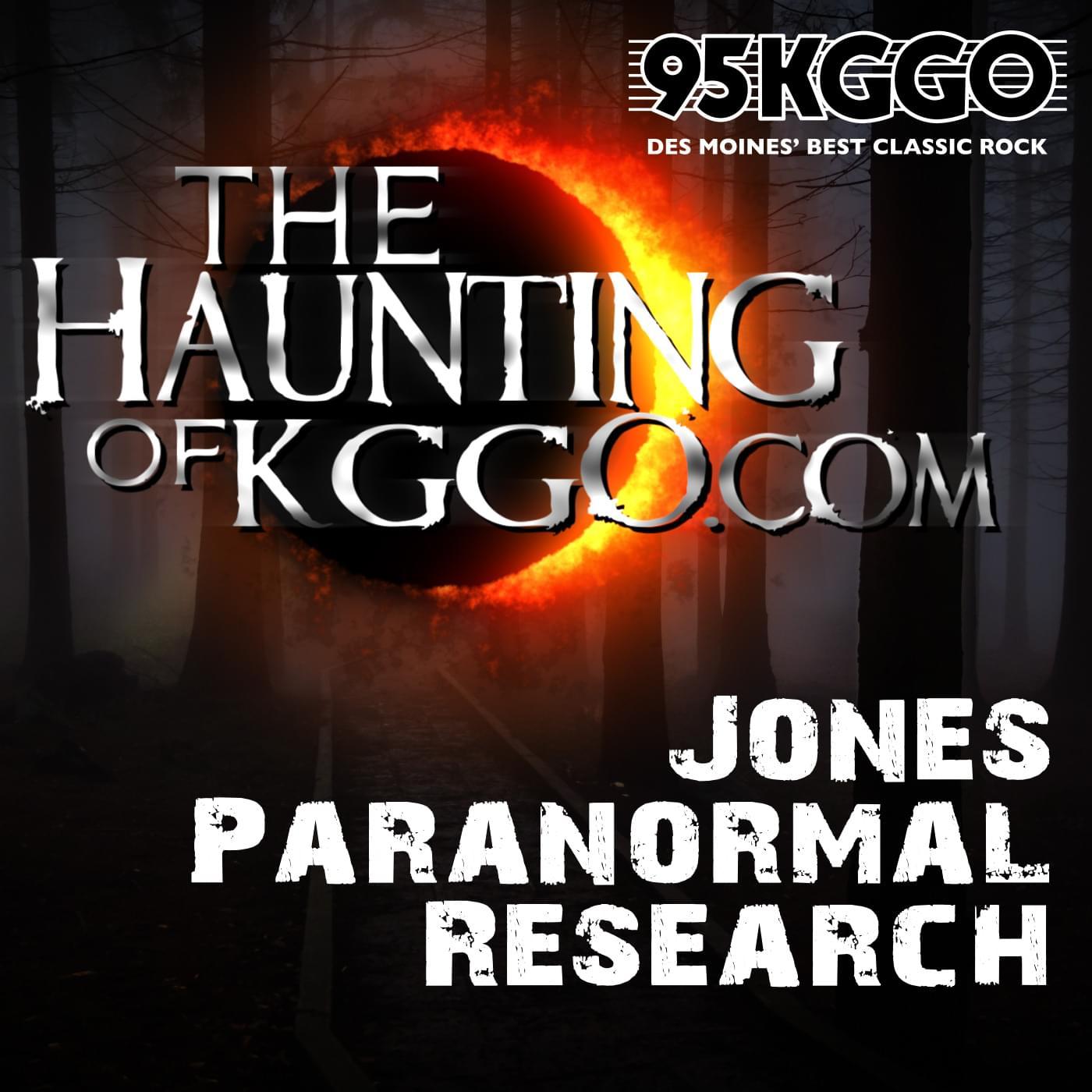 Haunting of KGGO.com – Jones Paranormal Research