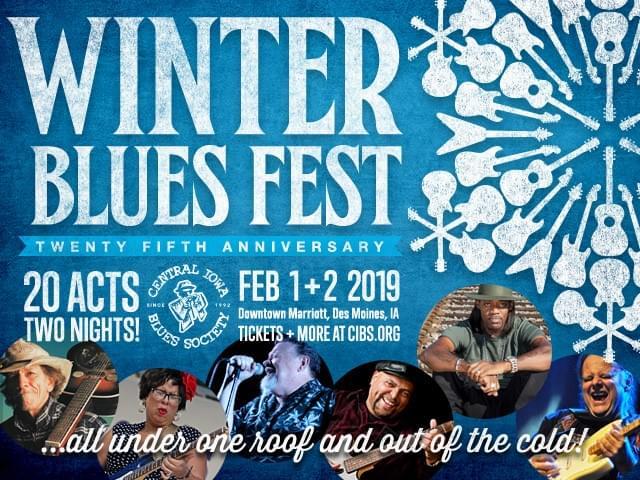 Winter Blues Fest Coming to Des Moines