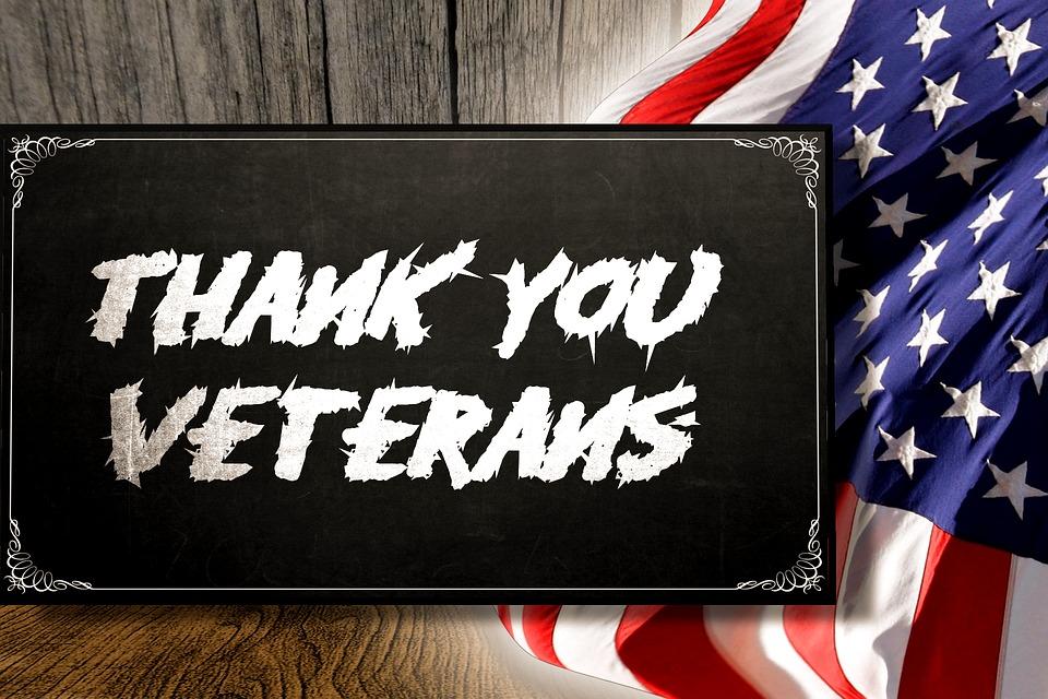 Veterans Day 2017 Free Meals & Treats