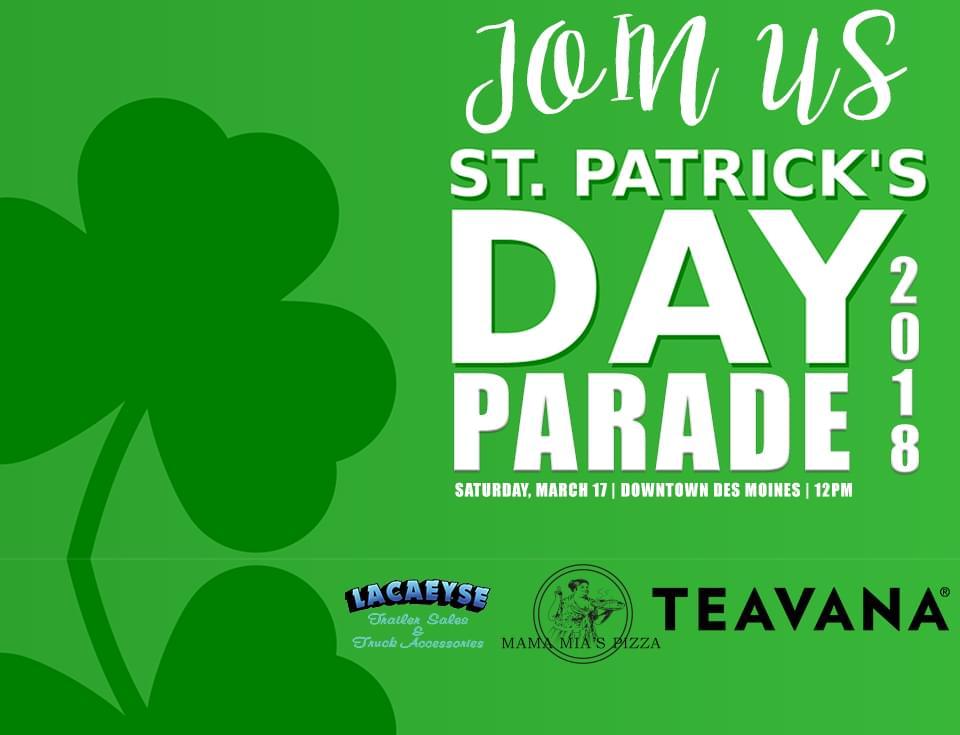 St. Patrick's Day Parade 2018!