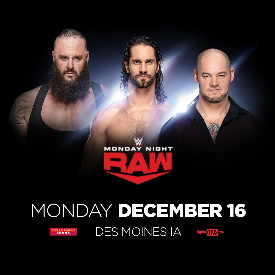 WWE Raw at Wells Fargo Arena
