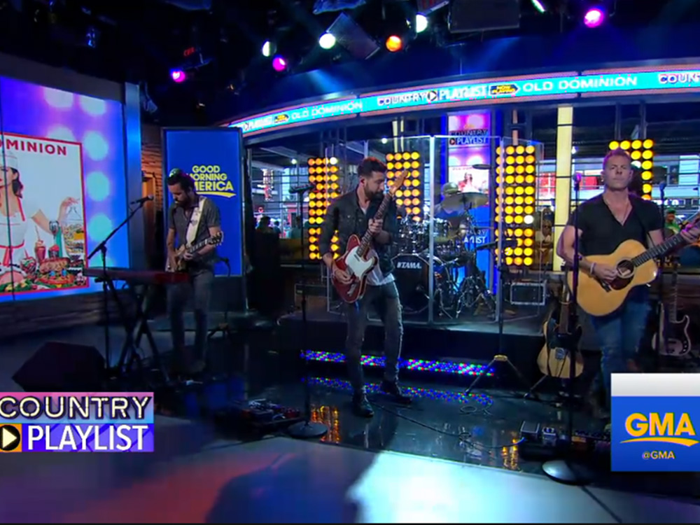 Old Dominion Announces New Tour; Performs on GMA