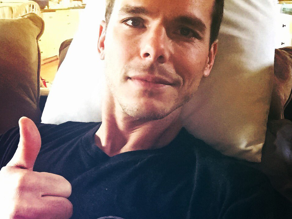 Granger Smith Is Out of the Hospital and Back in Texas After Breaking Two Ribs in a Stage Fall