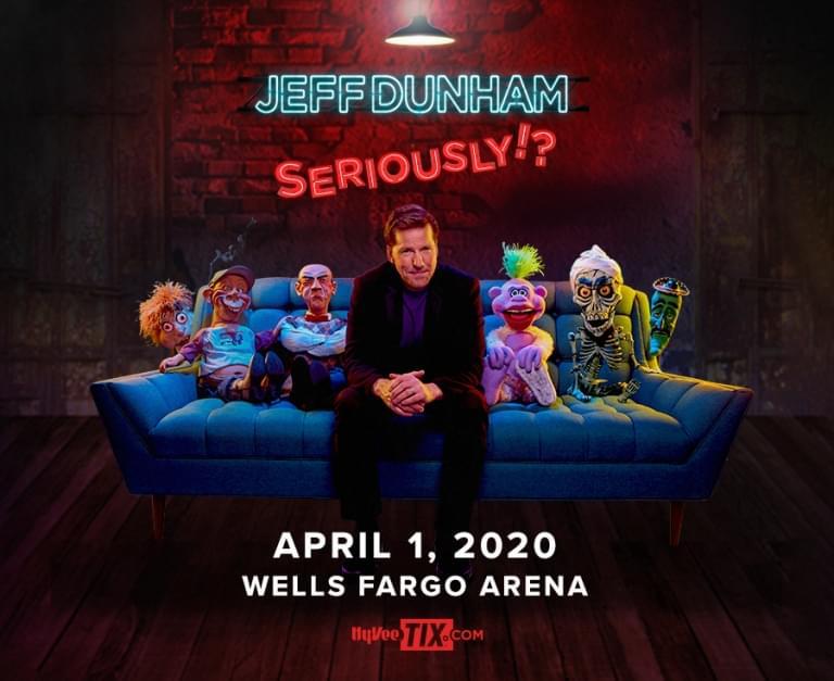 Jeff Dunham at Wells Fargo Arena
