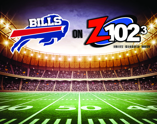 Listen to Z1023 for Buffalo Bills Action!