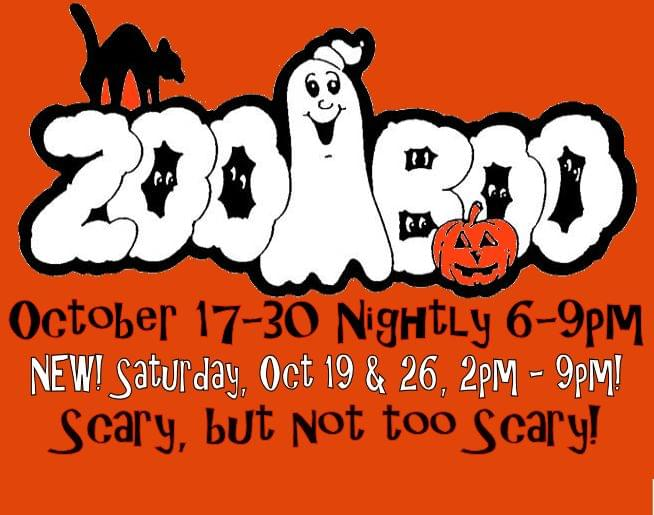 Family Fun at Zoo Boo 2019!