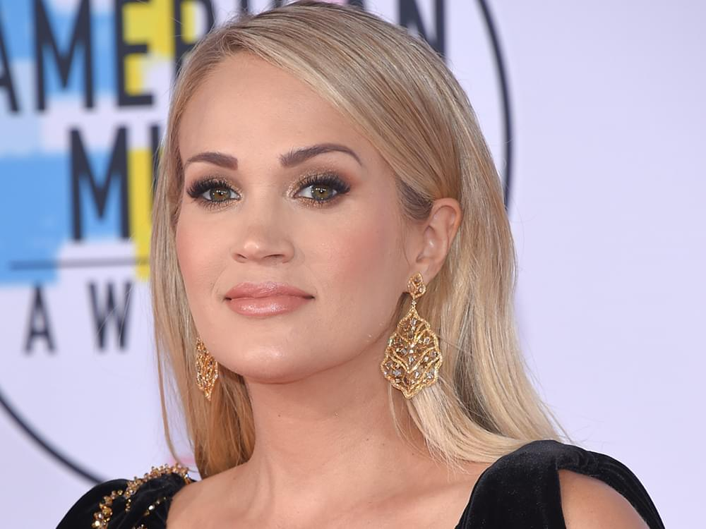 """Watch Carrie Underwood Perform New Song, """"Low,"""" & Chat With Stephen Colbert: """"I Feel Like Women Are the Backbone of Country Music"""""""