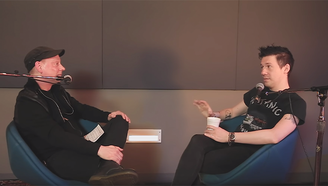 Tobias Forge talks about the beginning and future of Ghost | The Lounge