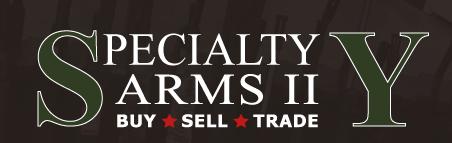 Specialty Arms 29th Annual Customer Appreciation Sale