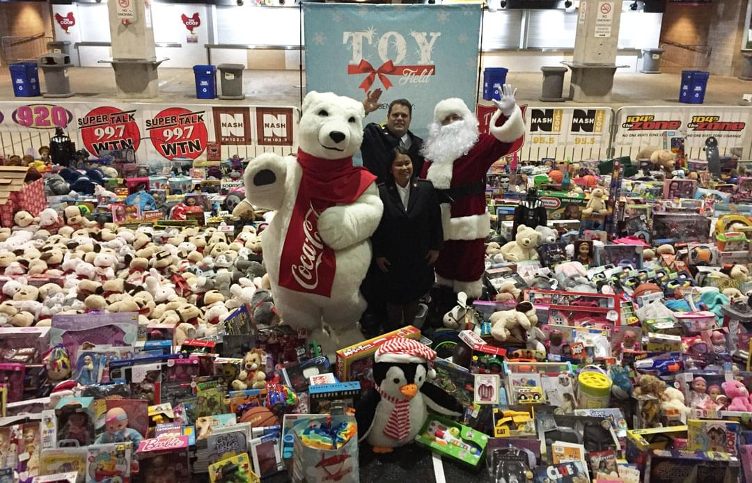 CUMULUS NASHVILLE TO BUILD A TOY FIELD FOR THE FORGOTTEN ANGELS