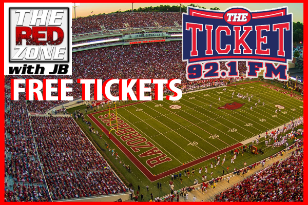 We gave away over $20,000 to our listeners last year alone! Will you be our next Ticket winner?