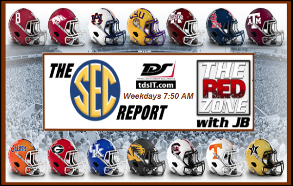 The SEC Report, presented by Total Document Solutions- 7:50AM on THE RED ZONE