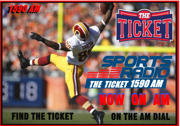 THE TICKET IS NOW ON AM – THE TICKET TIMES TWO – FIND US ON 1590 AM