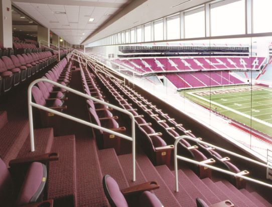 92.1 the Ticket is giving you the chance to watch the Hogs from the club seats!