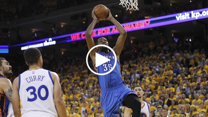 Krueger:  Kevin Durant erases Warriors' offensive inefficiencies