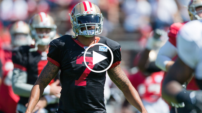 Brooks: If Kaepernick's throws are quick and accurate, he'll start Week 1