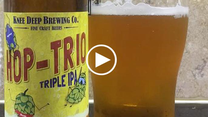 Tolbert's Beer Review: Knee Deep Hop Trio