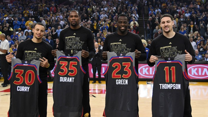 All-time Golden State Warriors team revealed in NBA 2K18