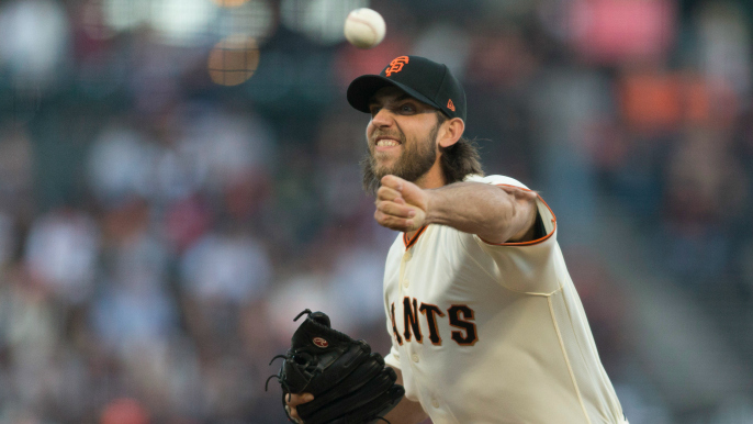 Bumgarner scratch throws early wrench in Giants' plans for six-man rotation