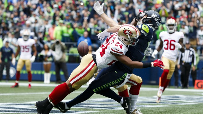 49ers lose sloppy one in Seattle, have yet to score TD this season