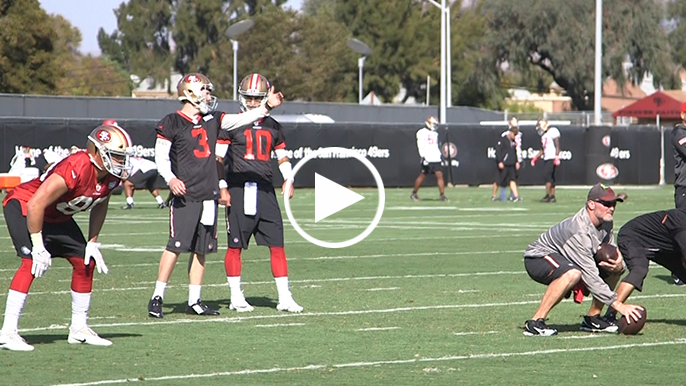 First look at Jimmy Garoppolo in a 49ers uniform