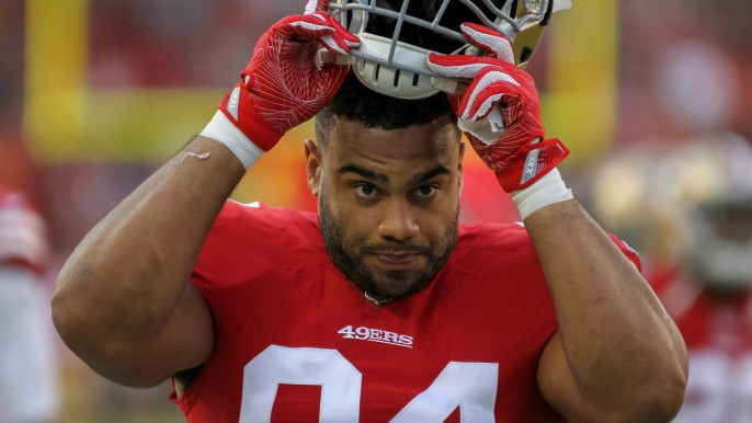 First-round pick Solomon Thomas to work pass rush in the off season