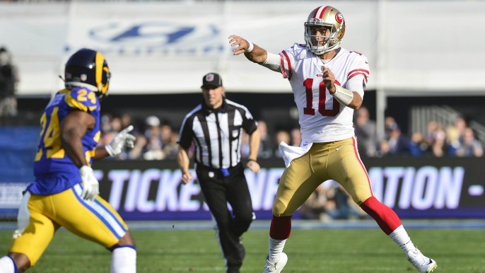 49ers end season with five straight wins after victory over Rams