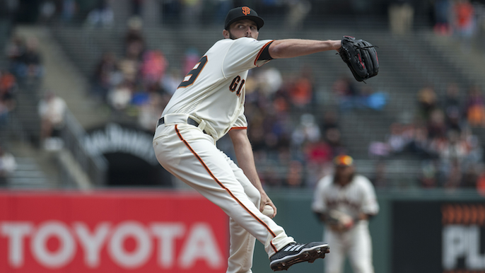 Giants expect Andrew Suarez to start on Tuesday vs. Padres