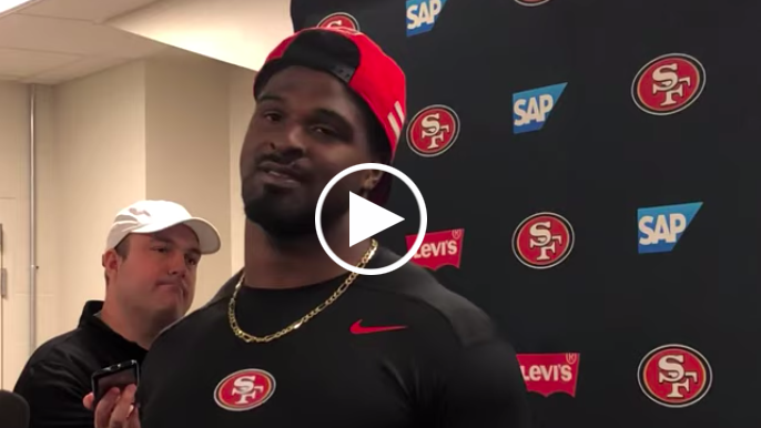 Dee Ford says he doesn't care about Nick Bosa's controversial tweets