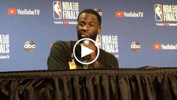 Warriors react to Thompson trying to play through knee injury