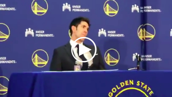 Bob Myers discusses draft after three draft-day trades