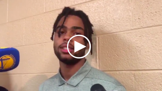 D'Angelo Russell responds to Warriors trade speculation