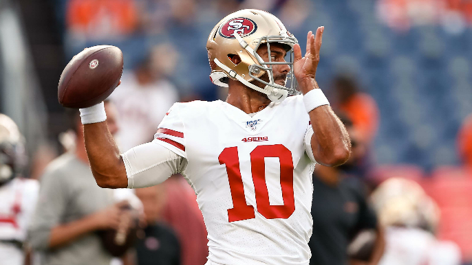 Ian Rapoport discusses 49ers QB situation after Jimmy G's rough return