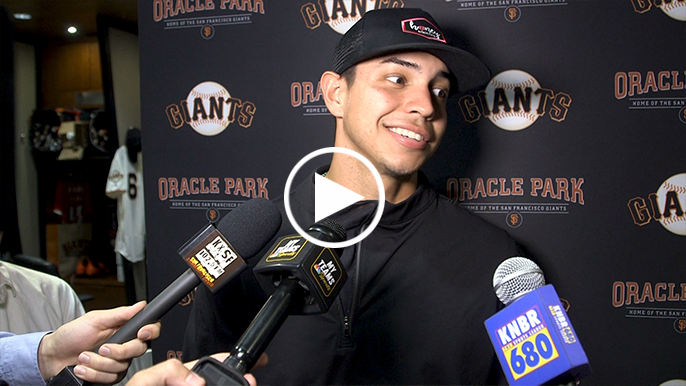Mauricio Dubon's pinch-me moment in an 'unreal' Giants debut