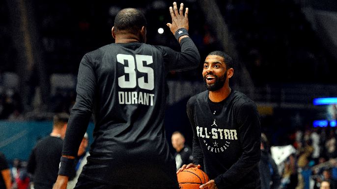Kyrie Irving criticizes Warriors for handling of Kevin Durant's injury