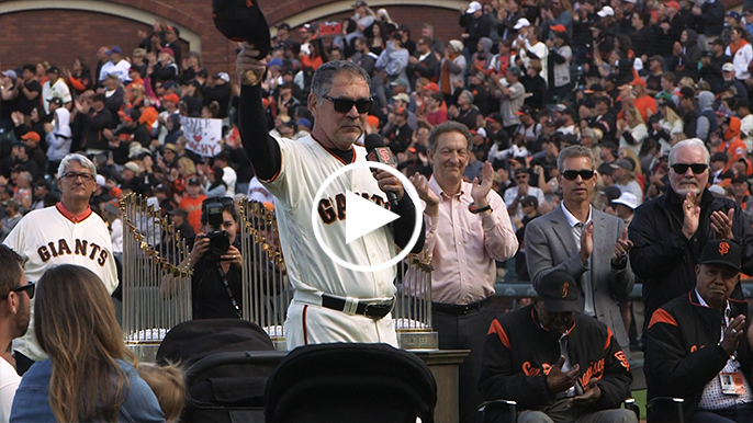 Here's Bruce Bochy's final speech to Giants and fans, in all its glory