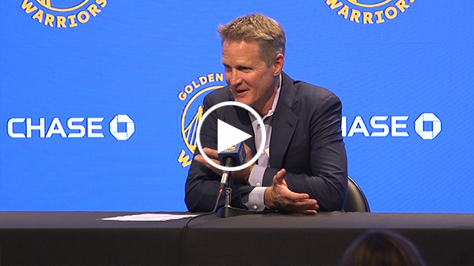Warriors give early reviews of 'strange' first time playing in new arena