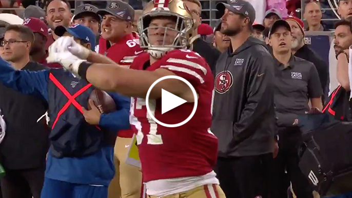 Nick Bosa trolls Baker Mayfield with celebration two years in the making