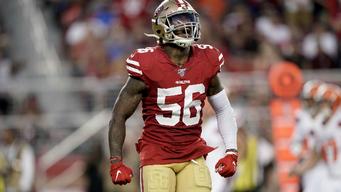 'Hot Boyzz': 49ers linebackers have new shirts to go along with newfound dominance